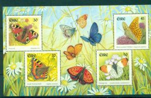 Ireland - Sc# 1265a. 2000 Butterflies. MNH Sheet. $9.00.