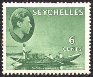Seychelles, Scott #128, Unused, Hinged