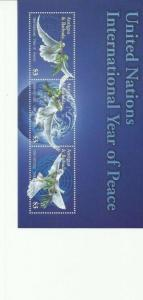 ANTIGUA & BARBUDA  2004 PEACE SCOTT 2753 MNH COMPLETE SET