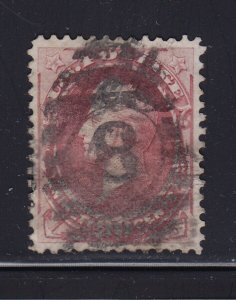 155 VF+ used neat S.O.N. 8 cancel with nice color cv $ 350 ! see pic !