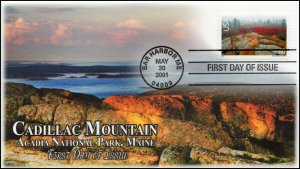 AO-C138, 2001, Acadia National Park,, 60 cent. Scenic American Landscapes, Add