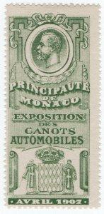 (I.B) Monaco Cinderella : Motorboat Exhibition (1907)