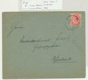 SOUTH WEST AFRICA 1916 CENSOR COVER, SCARCE KOLMANSKOP CDS TO WINDHK (SEE BELOW)
