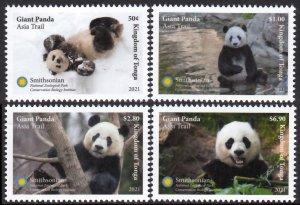 TONGA 2021 PANDA WILD ANIMALS ANIMAUX SAUVAGES WILDE TIERE [#2103]