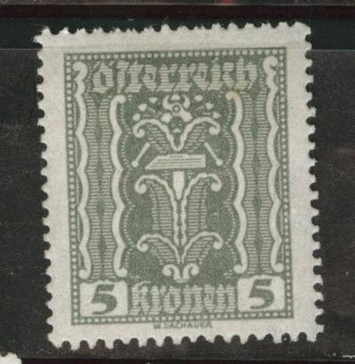 Austria Scott 255 MH* stamp from 1922-24 set