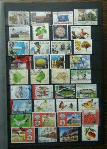 Barbados Range of Commemorative issues from 2000 onwards with high values used