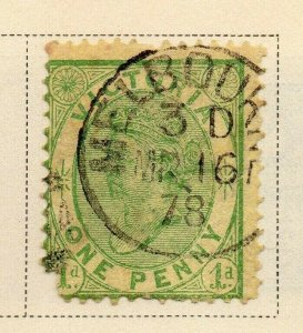 Victoria 1873-81 Early Issue Fine Used 1d. 326798