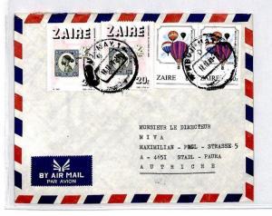 CM377 *ZAIRE* Missionary Air Mail MIVA Austria Cover