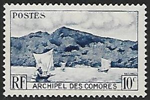 Comoro Islands - # 30 - Anjouan Bay - MNH