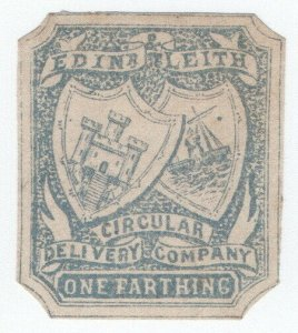 (I.B) Cinderella Collection : Circular Delivery Company (Edinburgh & Leith ½d)
