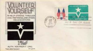 United States, First Day Cover, Ohio