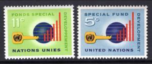 UN New York 137-138 MNH VF