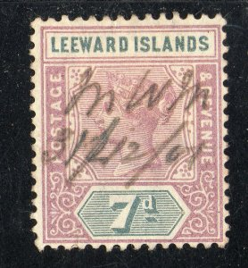 Leeward Islands Sc #6 Used New Years Eve Cancel
