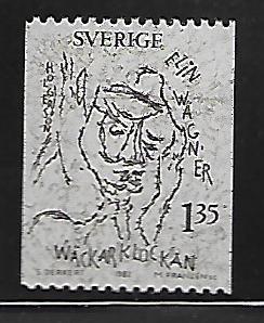 SWEDEN 1407 MNH ELIN WAGNER WRITER