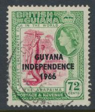Guyana Independence 1966 SG 406 Used / Fine Used