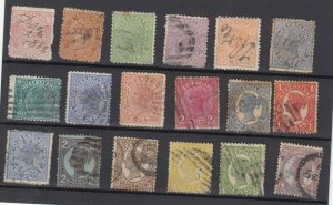 Queensland QV Collection Of 18 Fine Used JK6331