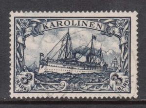 Caroline Islands #18 Used