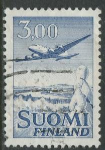 Finland - Scott C9 - Air Post -1963 - Used - Single 3m stamp