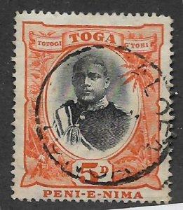 TONGA, 45, USED, GEORGE II,