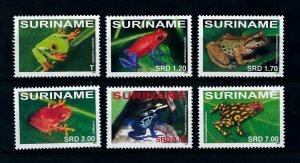 [100519] Suriname 2007 Amphibians Frogs  MNH