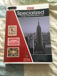 Scott 2016 Specialized Catalogue of United States Stamps & Covers ExLibrary