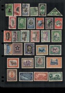 Liberia  mint & used lot of 31