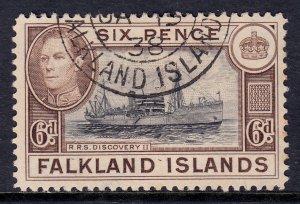 Falkland Islands - Scott #89 - Used - Toning - SCV $4.75