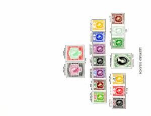 LEEWARD ISLANDS MH SCV $69.00 BIN 27.50