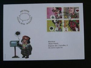 comics festival FDC Switzerland 2003