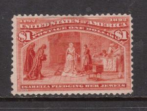 USA #241 Mint
