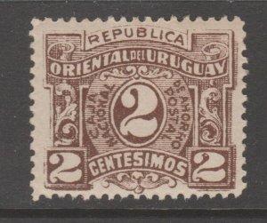Uruguay Cinderella revenue fiscal stamp 9-20-19