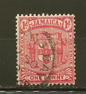 Jamaica 61 Arms of Jamaica Used