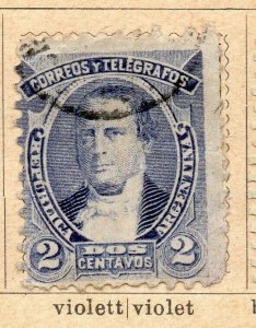 Argentina 1888-90 Early Issue Fine Used 2c. NW-11776