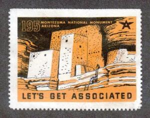 Associated Oil Company #195.Montezuma National Monument. Cinderella #02 AOC195