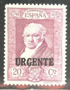 SPAIN Scott E7 MNH** Goya special delivery 1930