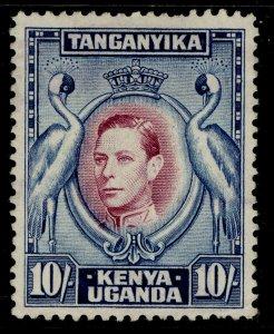 KENYA UGANDA TANGANYIKA GVI SG149b, 10s reddish-purple & blue, UNUSED. Cat £55.