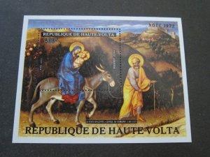 Burkina Faso 1973 Sc C134 Christmas Religion MNH