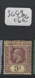 LEEWARD ISLANDS (P2305B)  KGV  3D   SG 69    VFU