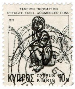 (I.B) Cyprus Cinderella : Refugee Fund 10m (1977)