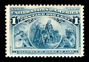 momen US Stamps #230 Mint OG NH PSE Graded VF-80J