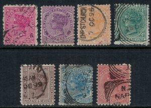 New Zealand #61-7 CV $98.05  (#64,6 sm. thins)