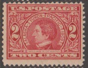U.S. Scott #370 Alaska-Yukon-Pacific Seward Stamp - Mint NH Single - IND