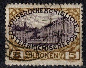 Austria #126  Used CV $6.00 (X1068)