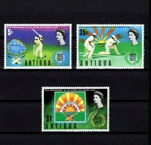ANTIGUA - 1972 - RISING SUN CRICKET CLUB - 50th ANNIVERSARY - MINT - MNH SET!