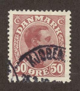 DENMARK SC# 120 F-VF U 1913