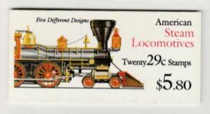 U.S. Scott #2847a BK216 Trains Stamp - Mint NH Booklet