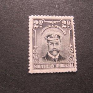 Southern Rhodesia 1924 Sc 4 MH