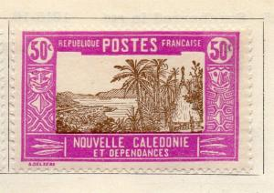 New Caledonia 1925-28 Early Issue Fine Mint Hinged 30c. 267991