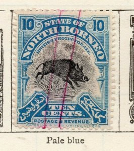 North Borneo 1909 Early Issue Fine Used 10c. NW-113841