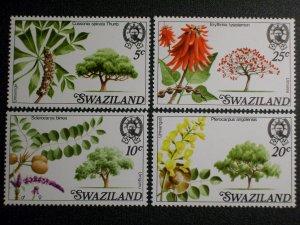 Swaziland Scott #294-297 mnh